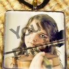 Custom Photo Glass Tile Pendant