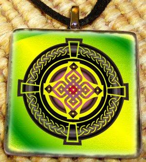 Shaman Arts Bright Celtic Cross