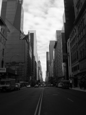 57th Street in Manhattan 8x10