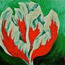 Spring's Fire,3 Acrylic on Canvas 8x10 Framed