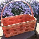 "Amish Plain Cookie Basket - 8.75"" long - 3.5"" wide"