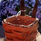 Amish Key Basket - With a genuine leather handle
