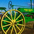 Old JD Tractor 16x20 Gallery Wrapped Canvas