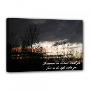 """12x18 Gallery Wrap """"Light from Within"""""""