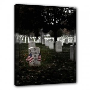 16x20 Gallery Wrap Arlington National Cemetery