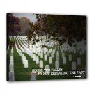 "16x20 Gallery Wrap ""Honor the Fallen"""