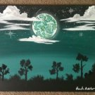 Custom Moon Rising 16x20