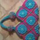 granny flower purse
