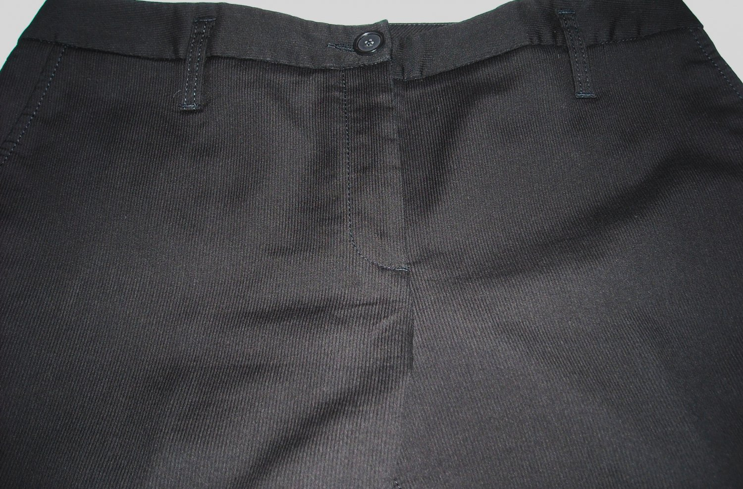 ANN TAYLOR BLACK TEXTURED PANTS SIZE 10 (SALE)