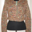 TWEED CROP SWEATER SIZE L