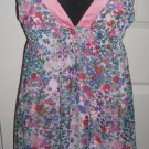TWENTY ONE FLORAL SHORT DRESS SIZE M (NEW)