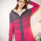 Snowflake knitted Sweater#88012