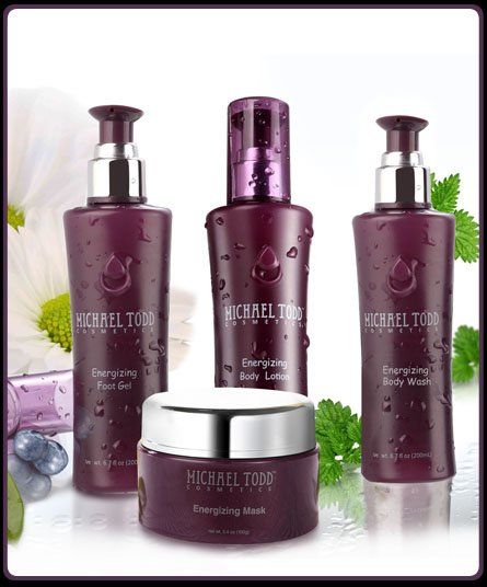 Michael Todd Cosmetics ~ Energizing Collection ~ 4 pc Set ~ $140.00