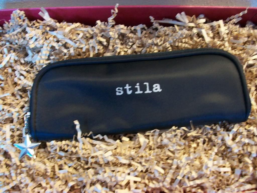 Stila makeup cosmetics bag ~ Black ~ Great For Brushes