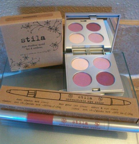 Stila Eye Shadow Quad + Convertible Eye Color Pen ~ NIB