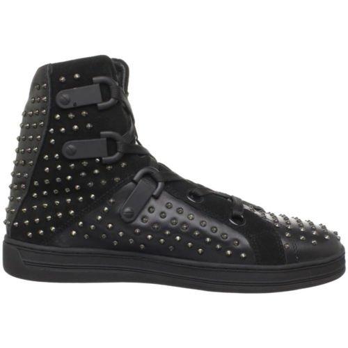 Rock & Republic Primo Hightop Sneakers ~ Black ~ US 9 / 42 EU ~ $325.00