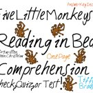 Five Little Monkey Reading in Bed (Eileen Christelow) Reading Comprehension with Answer Key PDF