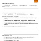 The Legend of Spookley, a Square Pumpkin Halloween Tale for Reading Comprehension Test, PDF