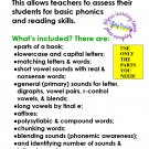 Reading Assessment for Elementary Students