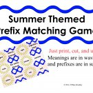 Prefix Matching Game of Prefixes and Meanings PDF