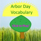 Arbor Day Vocabulary Game PDF