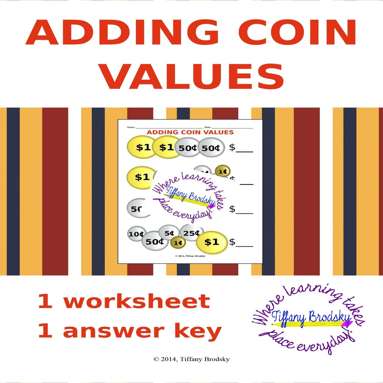 Adding U.S. Coin (Money) Values