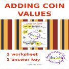 Adding U.S. Coin (Money) Values