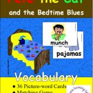 Pete the Cat and the Bedtime Blues Vocabulary Set PDF