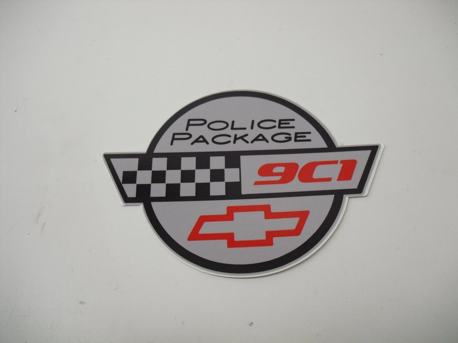 9C1 Police package/w flags