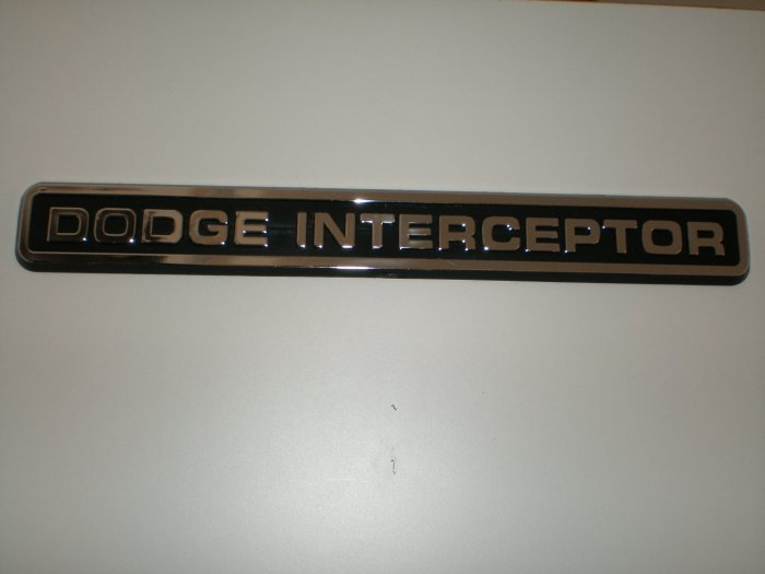 Dodge Interceptor