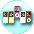 Super-Popular Slim Metal-body MP4 Player, 1.5-inch Screen 4GB - Pink
