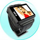 Widescreen MP4 Player Watch - 1.8 Inch Display - 4GB - Black