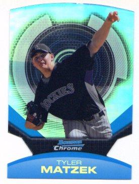 2011 Bowman Chrome Futures Tyler Matzek  #13