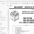 Sharp MX-2314N 2614N 3114N Service Manual