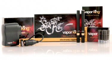Black Vapor King Double Starter Kit