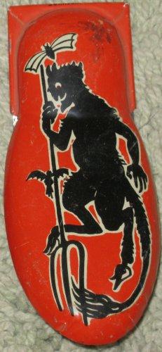 Vintage Kirchhof Metal Halloween Devil Pitchfork Clicker/Cricket