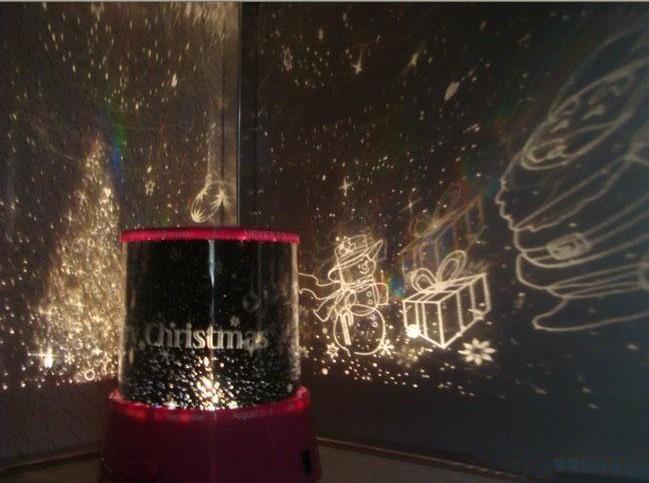 Christmas lighting with music and colorful lights