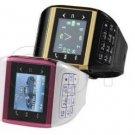 Q8+ watch mobile phone dual sim dual standby quadband compass button keypad wrist phone