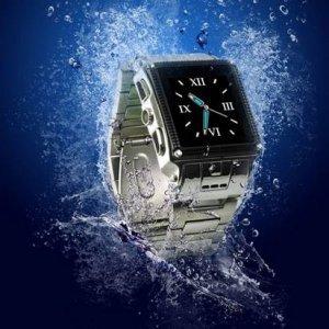 Stainless Steel Waterproof watch mobile phone--W818�JAVA)