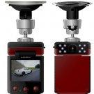 140 Degree HD Car Camera IR Night Vision 10 Led Vehicle Dashboard Recorder H197