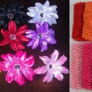 Baby Crystal Lily Flower Headbands