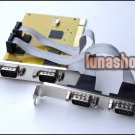 4 Ports RS-232 RS232 Serial COM to PCI Card Adapter
