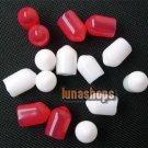 15 pcs RCA AV Female Adapter Antioxidation Protector