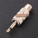 3.5mm Mono Male to F female Adapter Convertor Plug NEW
