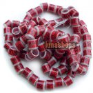 50PCS 12MM Numbers Color Bird Chicken Chook Poultry Leg Rings