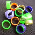 100PCS 16MM color bird chicken chook poultry Leg Rings Ring