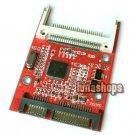 "CF Compact Flash Type I II Merory Card to 2.5"" SATA 7+15 22Pin converter Adapter"