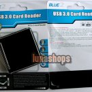 USB 3.0 All in 1 Flash Memory Card Reader Micro SD M2 MS XD M2 Compatible PC Mac