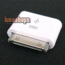 Micro USB Female to 30pin Male Charger Adapter i Phone 4 4S 4G 3G 3GS i Pad 2