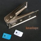Micro Sim Card Cutter + 2 Sim Adapters for i Phone 4G 4s OS Adapter